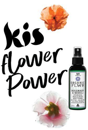 hydrosol flower waters by Kis my Body