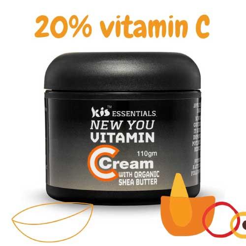 shea butter and vitamin c anti aging face cream