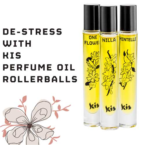 De Stress With Kis Rollerball Perfumes