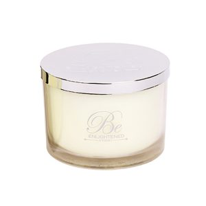 luxury be enlightened scented candle