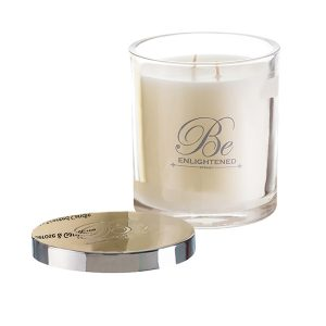 Elegant Triple Scented Candles by Be Enlightened