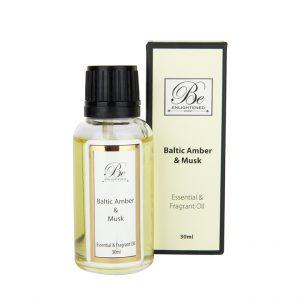 Be Enlightened Baltic Amber Musk Essential Fragrant Oil 30ml