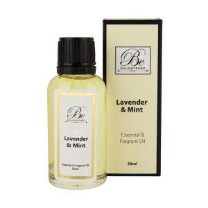 Be Enlightened Lavender Mint Essential Fragrant Oil 30ml