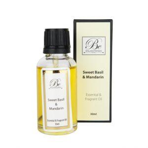 Be Enlightened Sweet Basil Mandarin Essential Fragrant Oil 30ml