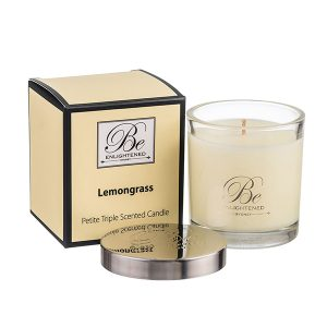 Lemongrass Be Enlightened Petite Triple Scented Candle