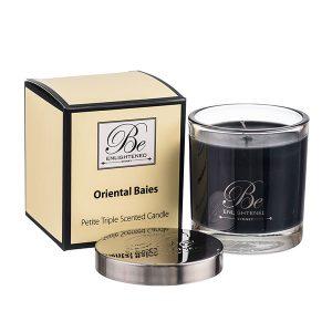 Oriental Baies Be Enlightened Petite Triple Scented Candle