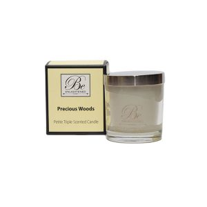 Precious Woods Be Enlightened Petite Triple Scented Candle
