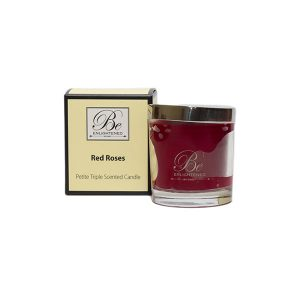 Red Roses Be Enlightened Petite Triple Scented Candle