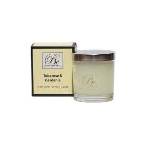 Tuberose & Gardenia Be Enlightened Petite Triple Scented Candle