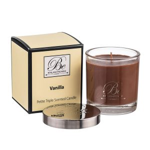 Vanilla Be Enlightened Petite Triple Scented Candle