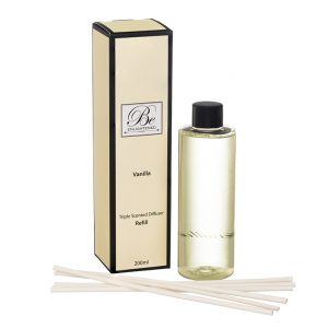 Vanilla Triple Scented Diffuser Refill by Be Enlightened 200 ml