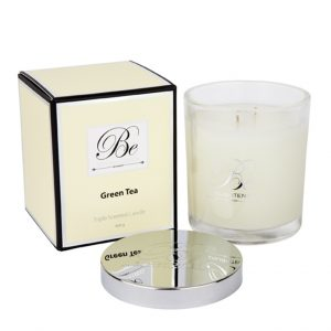 Green Tea Triple Scented Candle by Be Enlightened