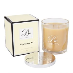 Warm Apple Pie Triple Scented Candle by Be Enlightened