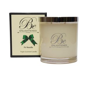 Fir Needle Be Enlightened Triple Scented Candle