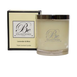Lavender & Mint Be Enlightened Triple Scented Candle
