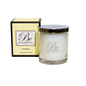 Lemongrass Be Enlightened Triple Scented Candle