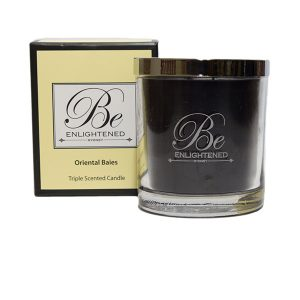 Oriental Baies Be Enlightened Triple Scented Candle