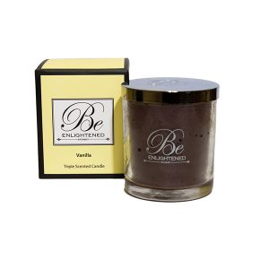 Vanilla Be Enlightened Triple Scented Candle