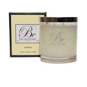 Jasmine Be Enlightened Triple Scented Candle