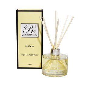 Red Roses Be Enlightened Triple Scented Diffuser