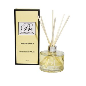 Tropical Coconut Be Enlightened Triple Scented Diffuser